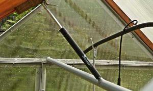 Автоматическое открывание форточек в теплице своими руками: с боковым толкателем, в 2дум, самооткрывающееся устройство, фото, видео — тепличные советы