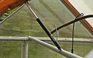 Автоматическое открывание форточек в теплице своими руками: с боковым толкателем, в 2дум, самооткрывающееся устройство, фото, видео – тепличные советы