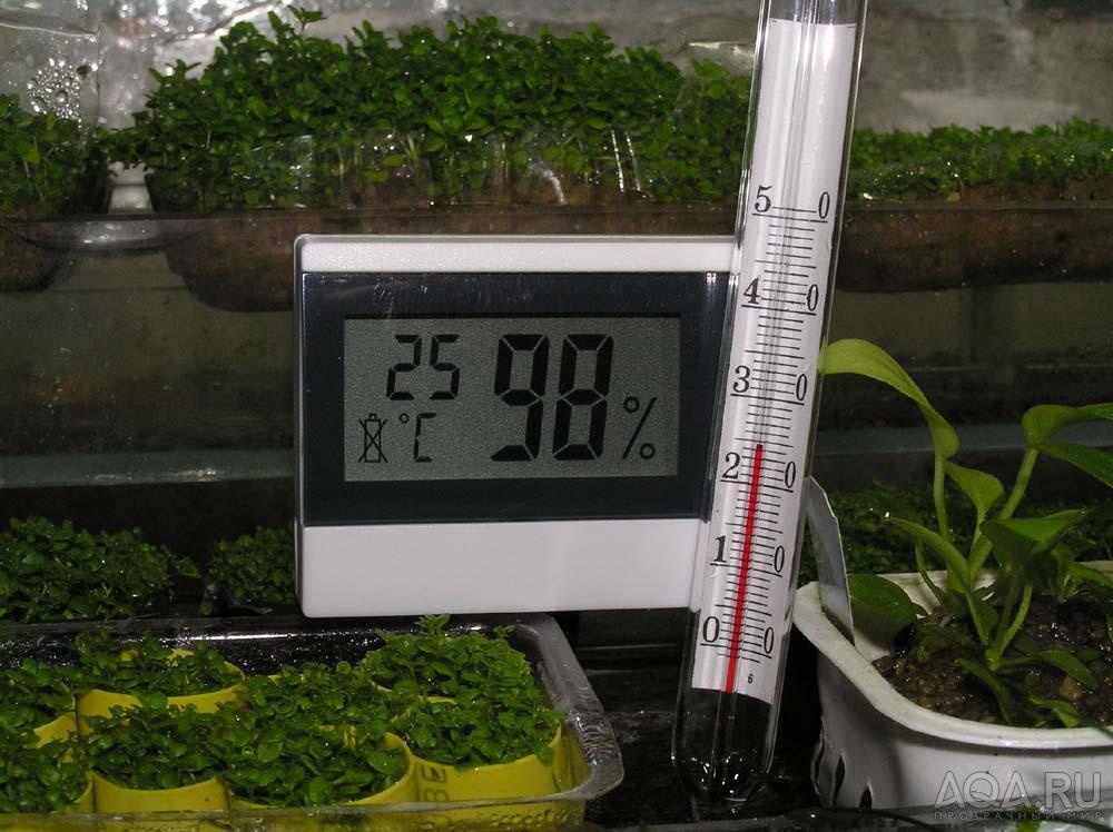 Поддержание температуры в теплице